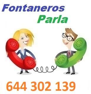 Telefono de la empresa fontaneros Parla